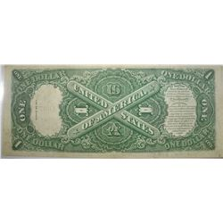 1917 $1 LARGE NOTE VF