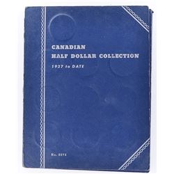 CANADIAN SILVER HALF DOLLAR COLLECTION