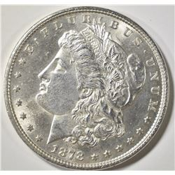 1878 7TF REV OF 79  MORGAN DOLLAR CH BU