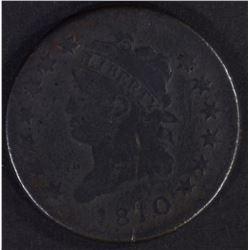 1810 LARGE CENT FINE CORROSION