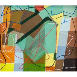 Grace Crowley Australian Modernist Oil on Canvas