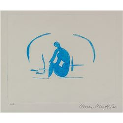 Henri Matisse French Fauvist Etching on Paper P.A.