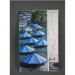 Christo b.1935 Photo of Blue Umbrella Certified