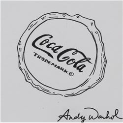 Andy Warhol US Pop Art Ink on Paper Coca-Cola Cap