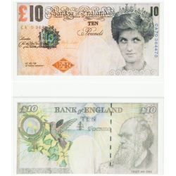 Banksy Pop Art Banknotes Di-faced Tenners