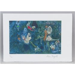 Marc Chagall Russian-French Litho Signed 30/150