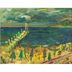 Raoul Dufy French Impressionist Oil on Board