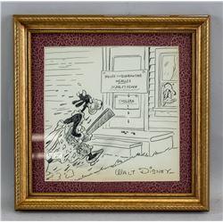 Walt Disney US Pop Art Charcoal and Graphite Paper