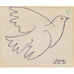 Pablo Picasso Spanish Cubist Lithograph