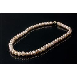Chinese Natural Seal Pearl Necklace
