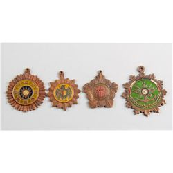 4 Assorted China Republic Medals