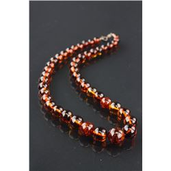 Chinese Fine Amber Necklace