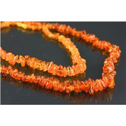 Two Pieces of Amber Necklaces