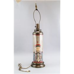 Late 19th Century Chinese Court Officer Lamp