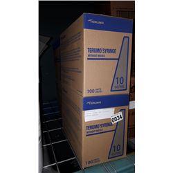 4 BOXES TERUMO 10ML SYRINGES WITHOUT NEEDLES