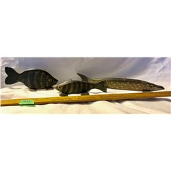 GR OF 3, TOM MARTINDALE FISH DECOYS