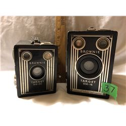 GR OF 2 KODAK CANADA BROWNIE CAMERAS