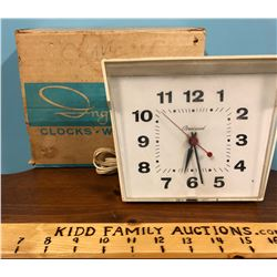 INGRAM CLOCK WITH ORIGINAL BOX