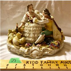NUMBERED FINE CHINA FIGURINE