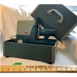 ARGUS 300 VINTAGE SLIDE PROJECTOR WITH CASE - MICHIGAN