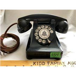 VINTAGE BAKELITE TABLE TOP PHONE - PEI TELEPHONE COMPANY