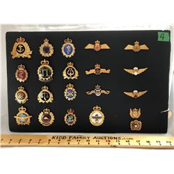 GR OF 21, CANADIAN MILITARY SERVICE PINS