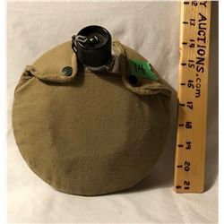 ALUMINUM CANTEEN WITH CANVAS COVER