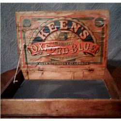 KEEN'S MUSTARD CRATE - LONDON - ORIGINAL DECAL & STENCIL