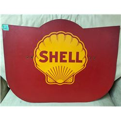 SHELL - DBL SIDED CARDBOARD PUMP PLATE