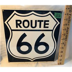 ROUTE 66 SSP SIGN