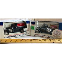 GR OF 2, EATON'S DELIVERY VANS - LIBERTY CLASSICS