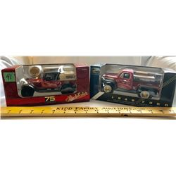 GR OF 2, CANADIAN TIRE DELIVERY TRUCKS. 1948 FORD & STUDEBAKER - LIBERTY TOYS