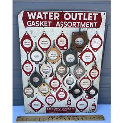 STERLING PRESS BOARD GASKETS SIGN