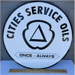 CITIES SERVICE DST SIGN
