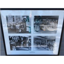 FRAMED FOOD PRODUCTION PRINT