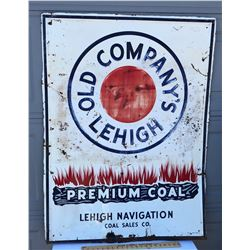 LEHIGH COAL SST SIGN - NO 35 - USA