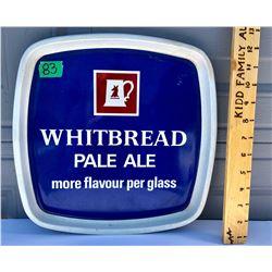WHITBREAD ALE, TIN TRAY