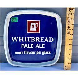 WHITBREAD ALE, TIN TRAY