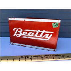 BEATTY DOUBLE SIDED TIN FLANGE