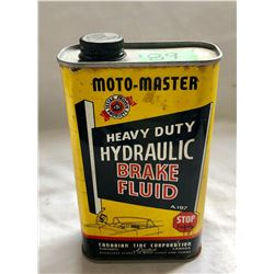 MOTO-MASTER BRAKE FLUID TIN