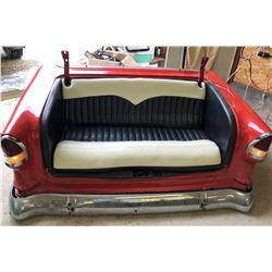 CONVERTED CLASSIC CAR COUCH - WITH LIGHTS