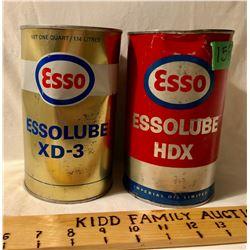 GR OF 2, ESSOLUBE HDX TINS - FULL