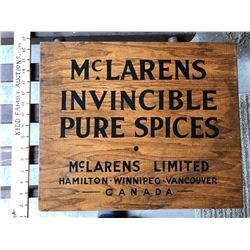 MCLARENS SPICES CRATE - FULL