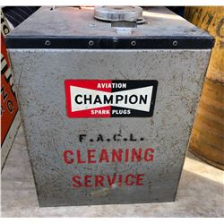 CHAMPION AVIATION SPARK PLUG MOBILE CLEANING UNIT