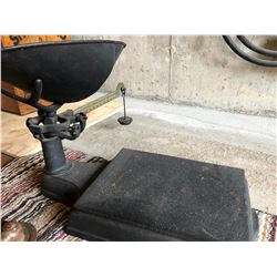 CAST TABLE TOP SCALE