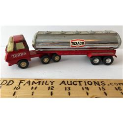 TEXACO TOY OIL TANKER - BUDDY L WITH TONKA TRACTOR