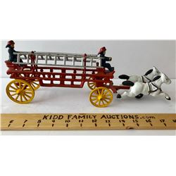 CAST TOY FIRE TRUCK