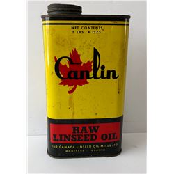 CANLIN 4 OZ LINSEED OIL TIN