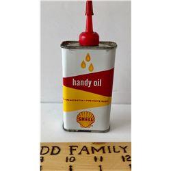 SHELL HANDY OIL TIN