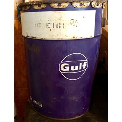 GULF GREASE PAIL - 20 LITRE SIZE
